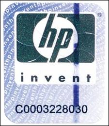 Защитная наклейка до марта 2005 года