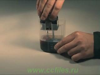 Работа со станцией автоматической заправки, wmv-видео, 2,68МБ, 1 мин., 25 сек.