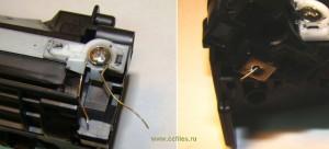 Дополнительный проволочный контакт магнитного вала